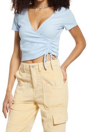 BP. Women's Flirty Tie Crop Top