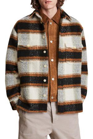 AllSaints Men's Rayado Stripe Shirt Jacket