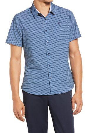 7 Diamonds Men's Flawless Short Sleeve Button-Up Shirt