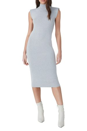 French Connection Women's Shoulder Pad Sleeveless Sweater Dress
