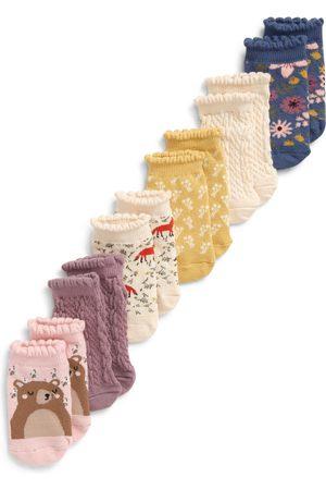 Tucker + Tate Toddler Girl's Assorted 6-Pack Ankle Socks