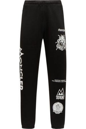 2 MONCLER 1952 Men Pants - Moncler Fleece Trackpants Trousers&Shorts