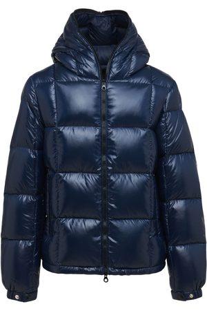 DUVETICA Rovello Hooded Zip Nylon Down Jacket