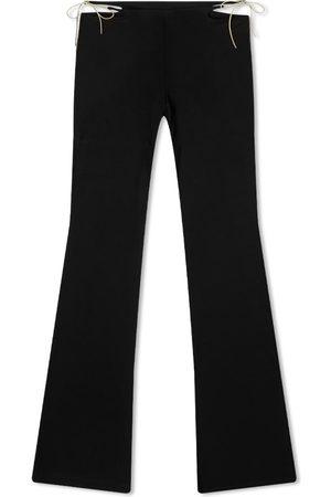 Miaou Men Wide Leg Pants - Iris Jersey Flare Pant