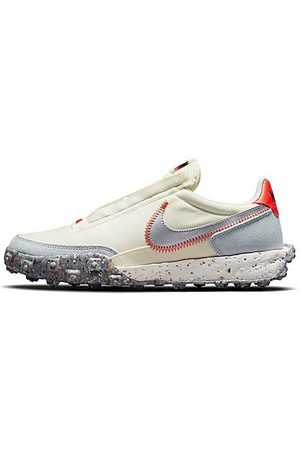 Nike Women's Waffle Racer Crater Casual Shoes in Off-White/Coconut Milk Size 5.5 Suede/Twill