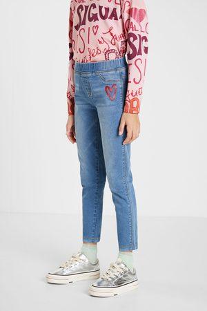 Desigual Slim denim leggings