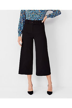 Ann Taylor The Belted Culotte Pant