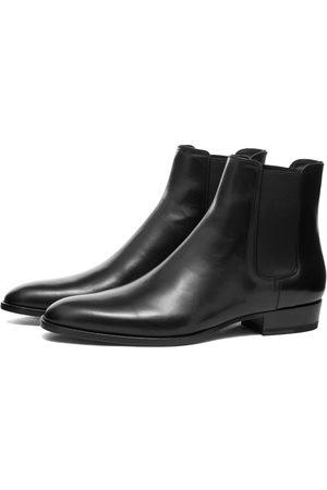 Saint Laurent Men Chelsea Boots - Wyatt 30 Chelsea Boot