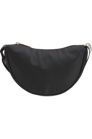 LES COYOTES DE PARIS Girls Rucksacks - Logo Print Nylon Shoulder Bag