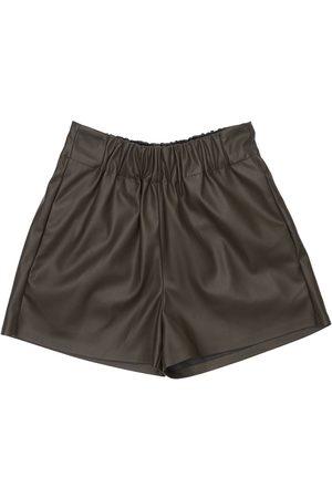 UNLABEL Faux Leather Shorts
