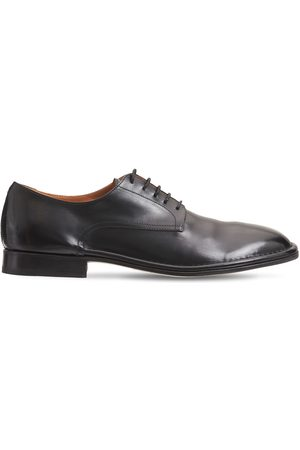 ALBERTO FASCIANI Derby Leather Lace-up Shoes