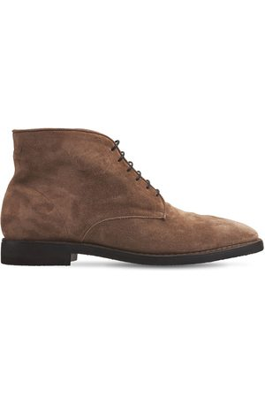 ALBERTO FASCIANI Suede Lace-up Boots