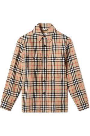 Burberry Calmore Fleece Lined Shirt Jacket