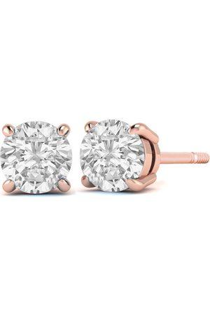 SuperJeweler 1/3 Carat Diamond Stud Earrings in 14K (