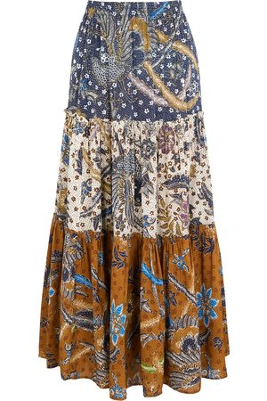 CARA CARA Women Printed Skirts - Melanie printed voile maxi skirt