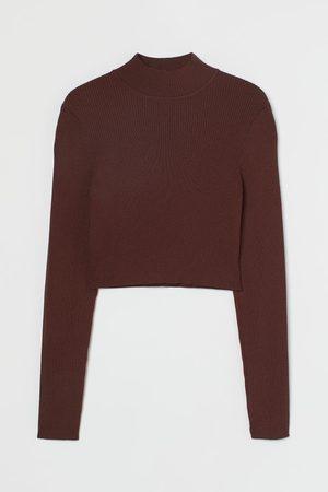 H & M Women Crop Tops - Knit Crop Top