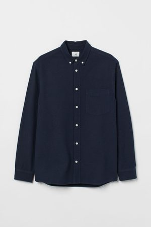 H & M Men Shirts - Regular Fit Oxford Shirt