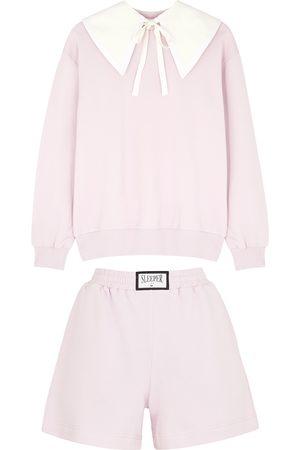 Sleeper Women Pajamas - Diana Athpleasure light cotton-blend pyjama set