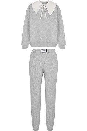 Sleeper Women Pajamas - Diana Athpleasure grey cotton-blend pyjama set