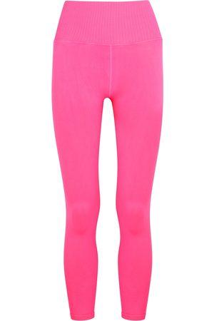 Free People Movement Women Stretch - Good Karma neon stretch-jersey leggings
