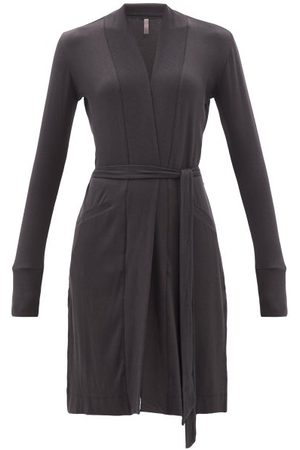Commando Belted Ribbed-jersey Robe - Womens