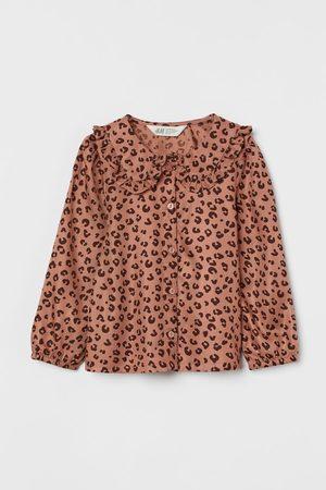 H & M Kids Blouses - Ruffle-collar Blouse