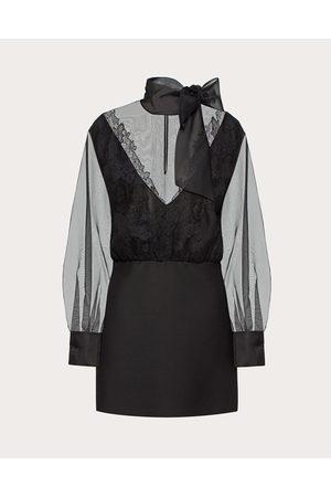 VALENTINO Women Dresses - Crepe Couture And Organza Dress Women 100% Silk 36