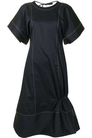 EUDON CHOI Women Dresses - Contrast-stitching short-sleeve dress