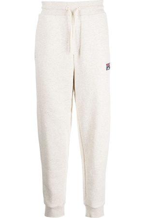 Fila Embroidered-logo detail track pants - Grey