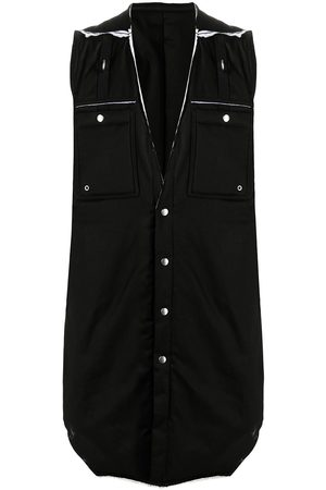 Rick Owens Deconstructed padded vest