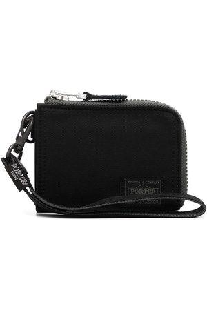 PORTER-YOSHIDA & CO Men Wallets - Logo patch zip-around wallet