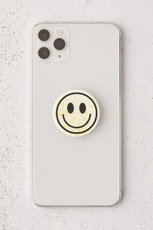 PopSockets Tie-Dye Happy Face Swappable Phone Stand