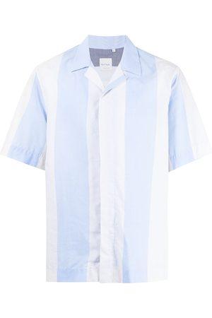 Paul Smith Men Short sleeves - Short-sleeved striped shirt