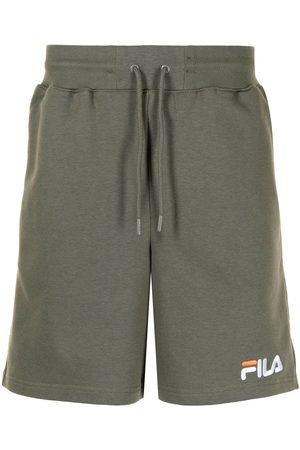 Fila Men Sports Shorts - Logo-embroidered track shorts