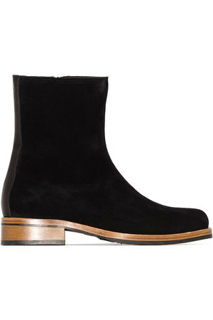 Our Legacy Men Ankle Boots - Camion textured ankle boots