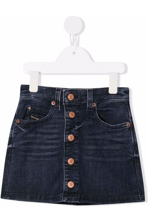 Diesel Girls Denim Skirts - A-line denim skirt