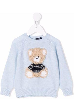 Il Gufo Sweaters - Tricot-knit bear jumper