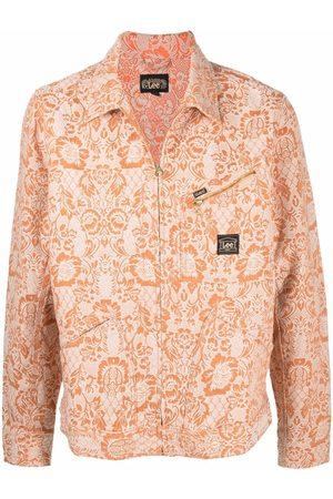 ARIES Denim Jackets - X Lee 191 floral-print jacket