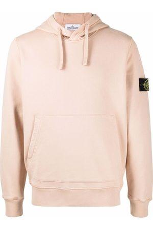 Stone Island Men Hoodies - Compass badge logo hoodie