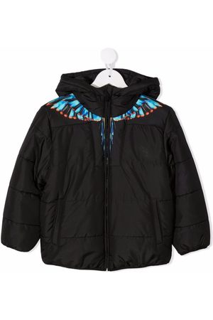 MARCELO BURLON BLUE GRIZZLY WINGS NY PUFFER LIGH