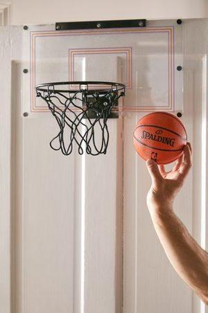 Spalding UO Exclusive Over-The-Door Slam Dunk Mini Basketball Hoop