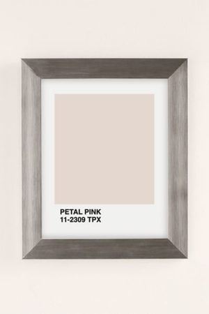 Honeymoon Hotel Accessories - Petal Pink Art Print