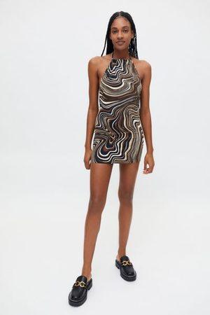 Motel Jessica Halter Mini Dress