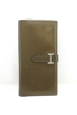 Hermès Béarn leather wallet