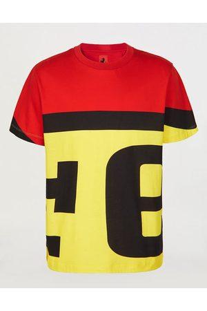 FERRARI Men Short Sleeve - Cotton T-shirt with logo