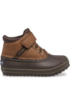 Sperry Top-Sider Boots - Sperry Kids Bowline Storm Junior Boot Tan/ , Size 6M