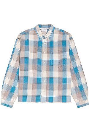 JOHN ELLIOTT Hemi Oversized Shirt in Blue