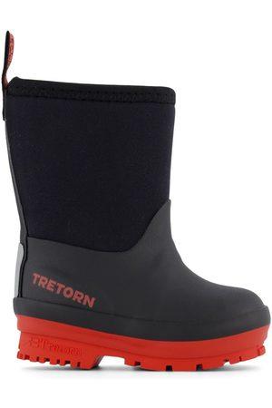 Tretorn Kids - / Burnt Orange Kuling Neoprene Rubber Boots - 19 EU - - Wellingtons