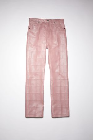 Acne Studios FN-MN-TROU000533 Patchwork trousers