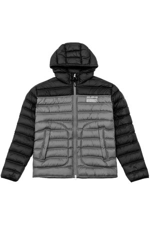 Axel Arigato Hyde Bi-Color Hooded Puffer Jacket